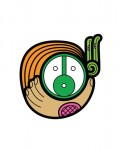 """Niño Verde / Green Child"" pictogram, by Frida Larios"