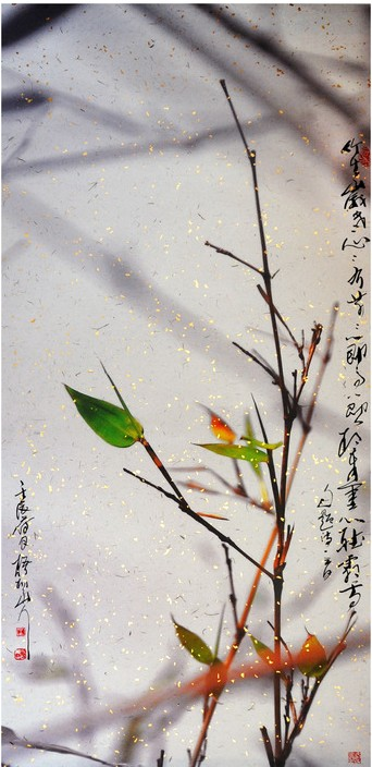 """Bamboo"", photoink by Leo Wang (2012)"
