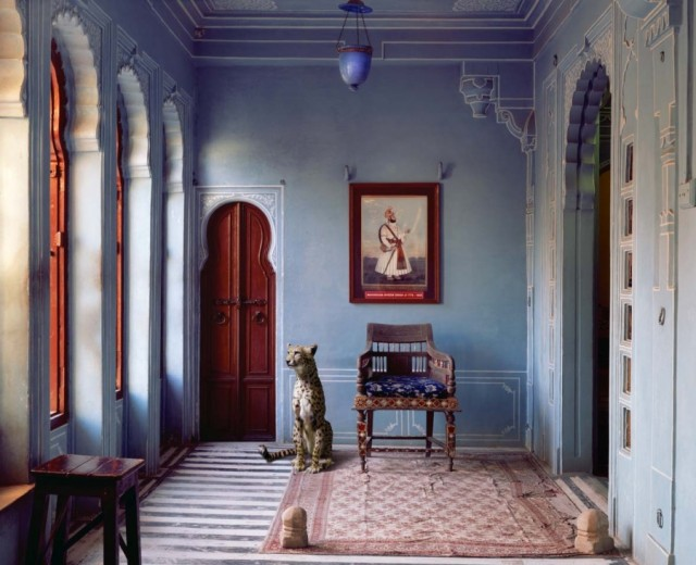 """The Maharaja's Apartment, Udaipur City Palace, Udaipur"", India Song (2008-2012), by Karen Knorr"