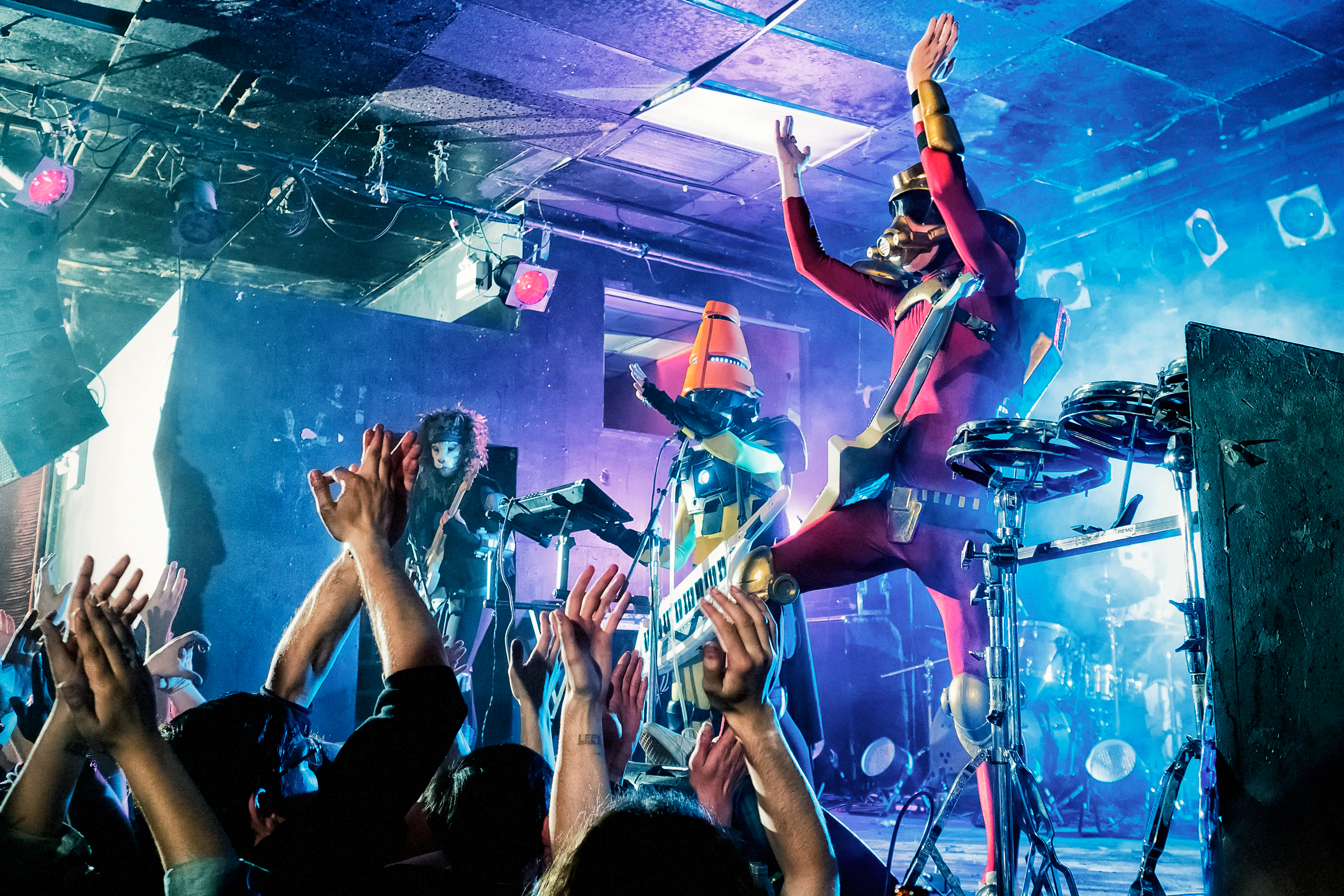 TWRP rocking out